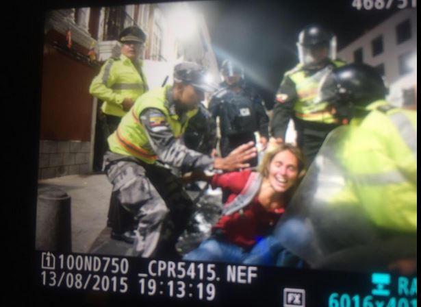 Manuela Picq fue detenida