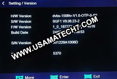 1506tv New Software - 1506tv SGF1 Software Download