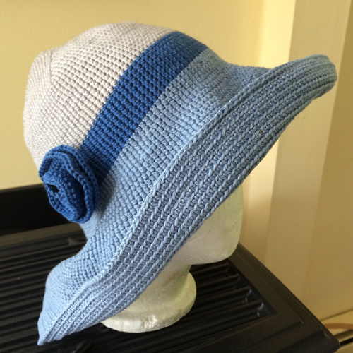 Relax Ramie Hat - Free Pattern