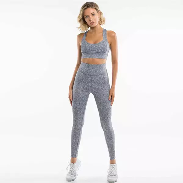 High Waist Yoga Leggings Sets