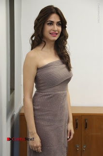 Actress Kriti Kharbanda Stills in Short Dress at Bruce Lee Movie Press Meet Stills  0032.jpg
