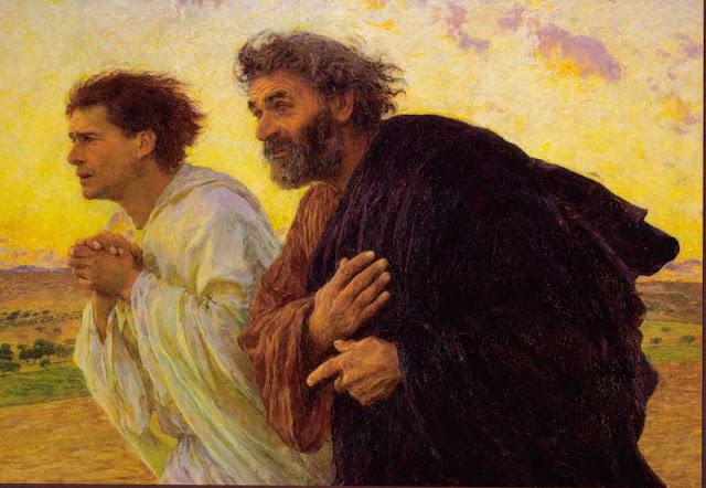Giovanni e Pietro di Eugéne Burnand