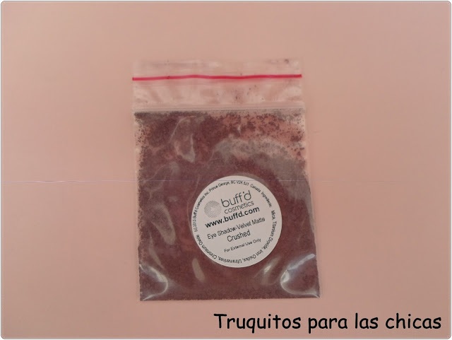pigmento Buff´d Cosmetics