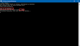 شرح تشغيل لينكس باش شل على ويندوز 10