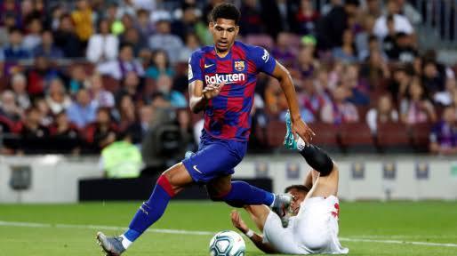 Ronald Araujo to get Spanish passport as Barcelona plan promoting the centre-back for  2020/21 season.