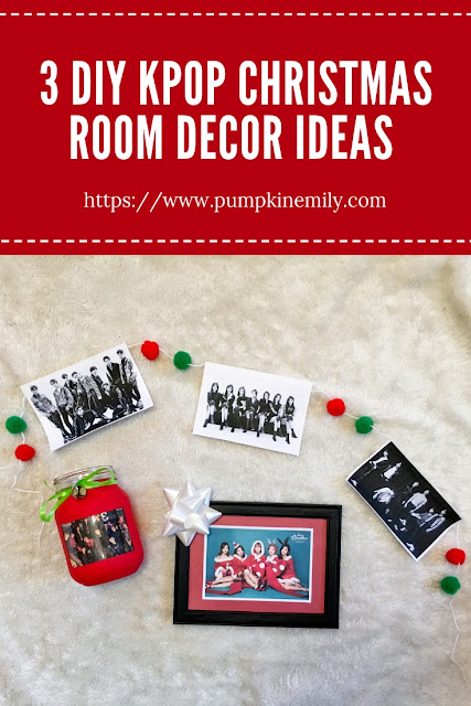 3 DIY Kpop Christmas Room Decor Ideas