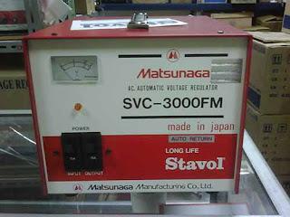 Darmatek Jual Matsunaga Stavol SVC-3000FM Stabilizer 3000VA