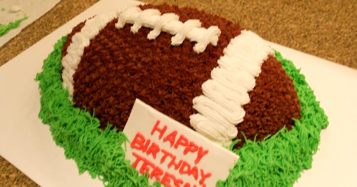 Football Cake Cupcakes