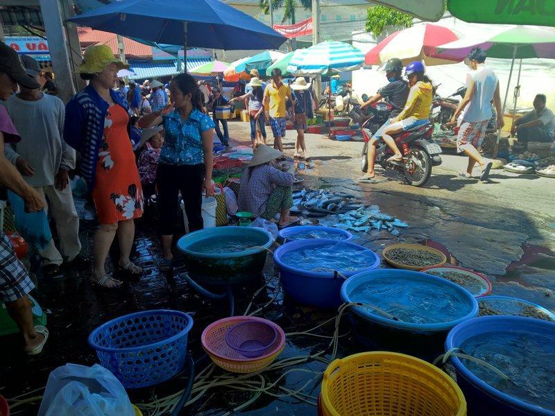 Du lịch Vũng Tàu khám phá chợ Xóm Lưới mua và ăn hải sản trong một nốt nhạc