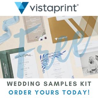 free wedding samples kit vostaprint