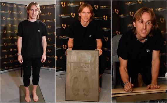 Modric Wins the 2019 Golden Foot Award
