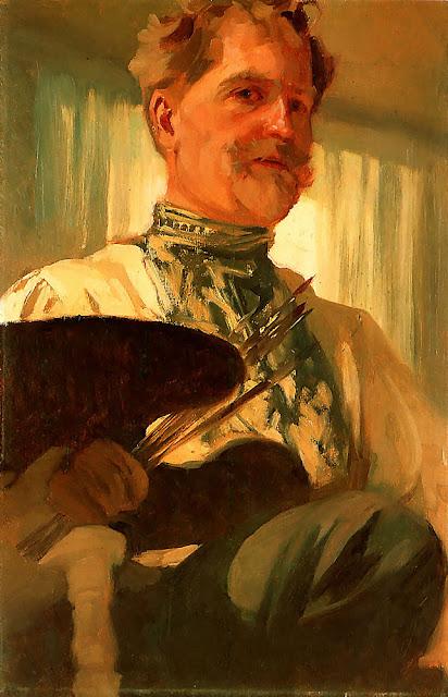Альфонс Муха - Автопортрет-1897