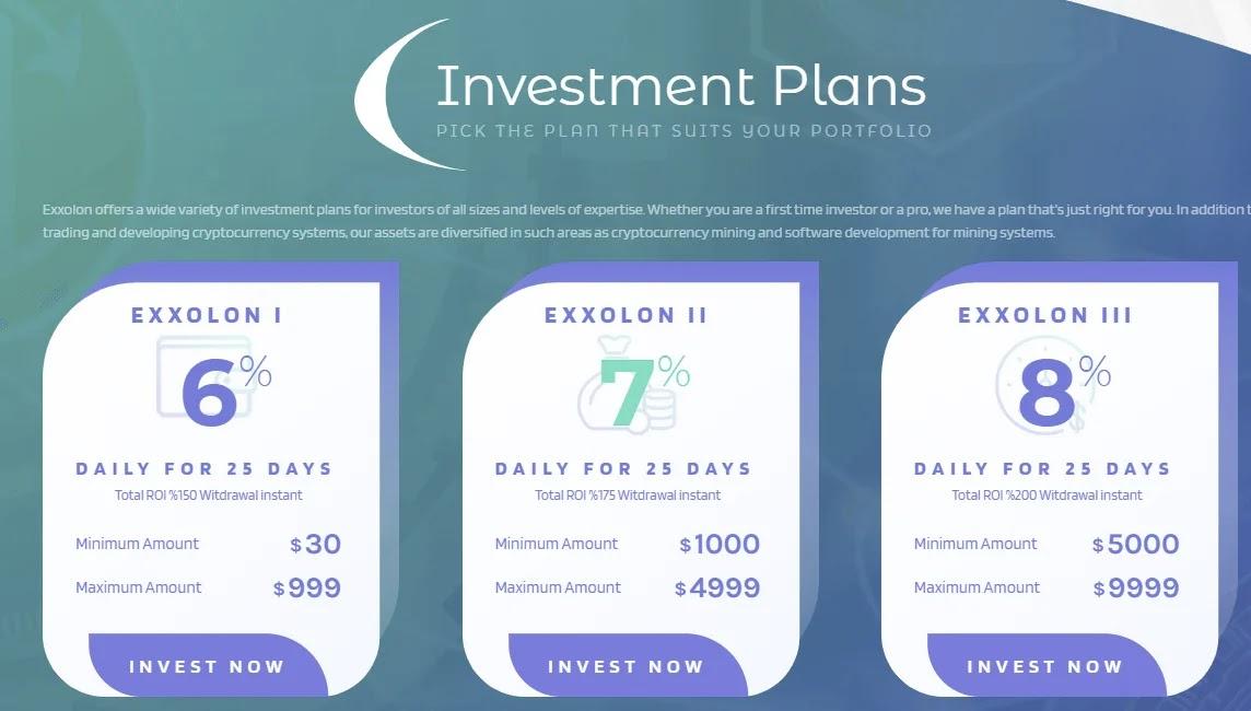 Инвестиционные планы Exxolon