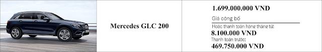 Giá xe Mercedes GLC 200 2019 tại Mercedes Trường Chinh