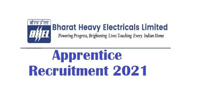 BHEL Trichy Recruitment 2021