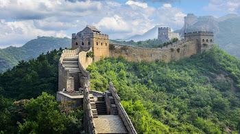 Recorre la Gran Muralla China