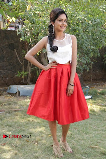 Actress Mahima Nambiar Latest Stills in White Top and Red Skirt at Kuttram 23 Movie Press Meet  0041.jpg