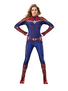 Captain Marvel Hero Suit Adult Costume
