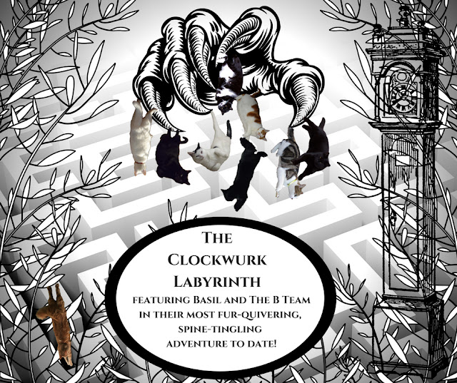 Tuesday Tails Summer BlockBuster 2018 - The Clockwurk Labyrinth Chapters 10 ~ 11 @BionicBasil.com