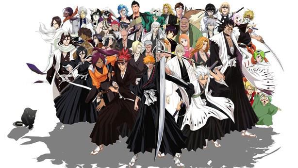 Bleach - Anime Tokoh Utama Menggunakan Pedang
