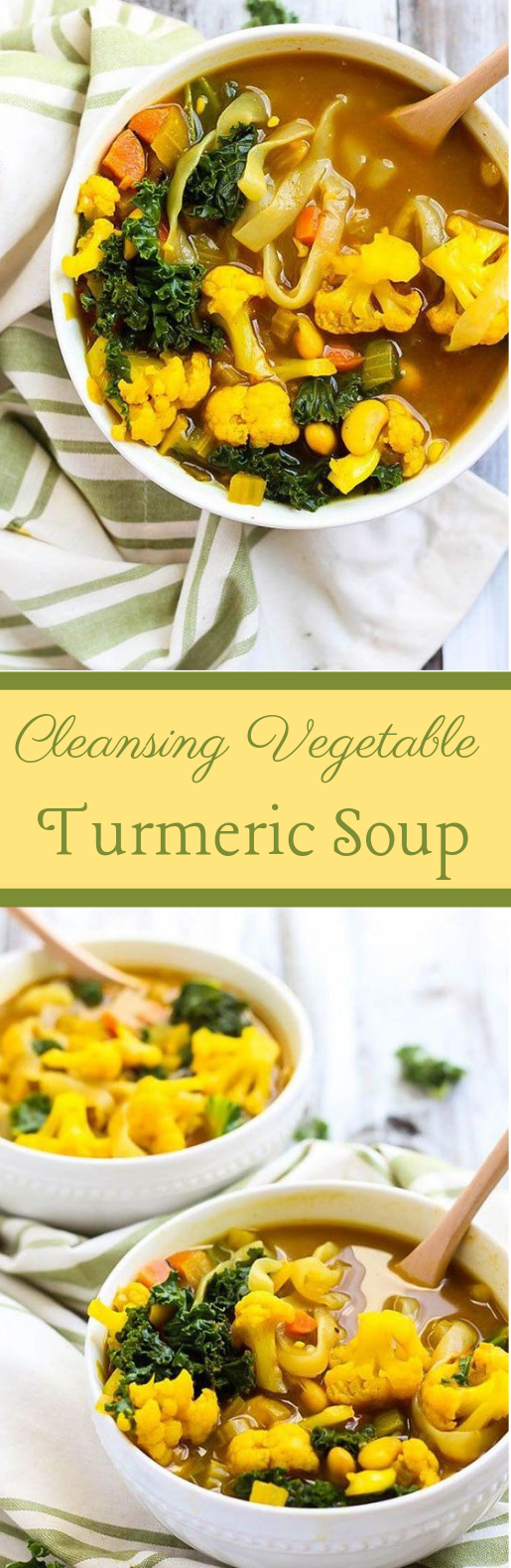 CLEANSING VEGETABLE TURMERIC SOUP
