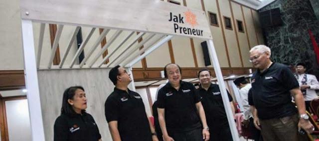 Anies Harapkan Jakpreneur Jadi Wadah Membangun Kemandirian Berwirausaha