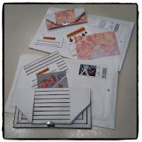 envoi commandes bijoux dans pochette origami