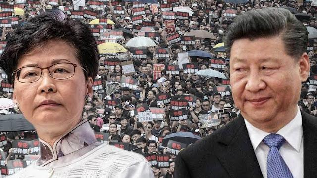 Bentrokan Pecah di Hong Kong Setelah Demonstrasi Mendukung Muslim Uighur Berakhir Kacau
