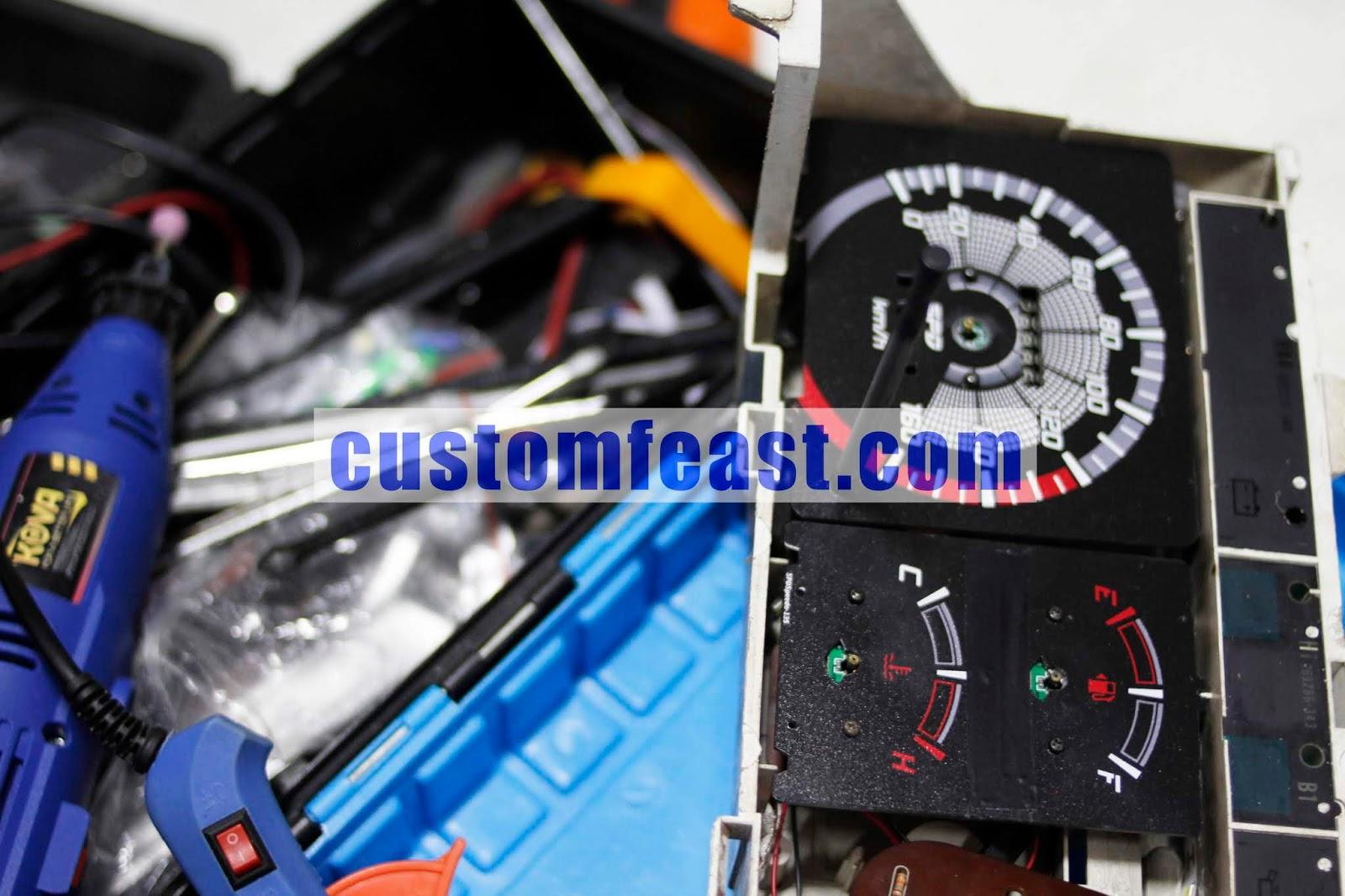 bengkel service speedometer digital