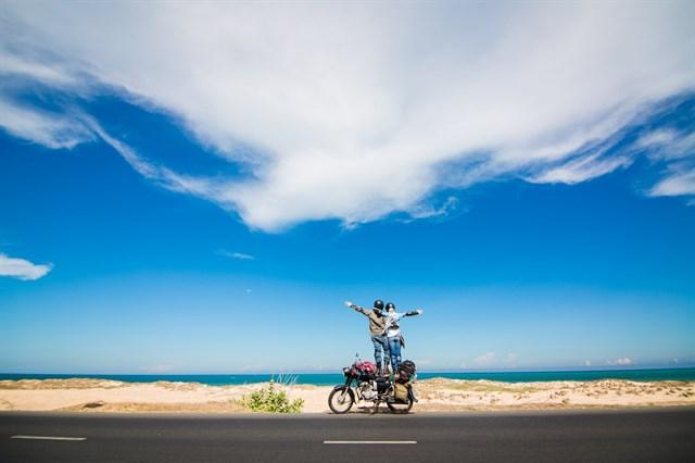 Có rất nhiều phương tiện và đường đi để bạn tới bãi Long Hải tuyệt đẹp này (Ảnh sưu tầm)