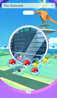 Pokemon Go Waterfall