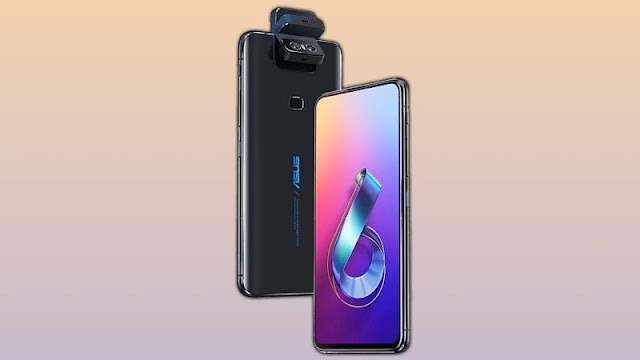 Asus 6z with 48MP camera and sd 855 Soc and 5000mAh battery