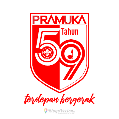 Hari Pramuka ke-59 (2020) Logo Vector