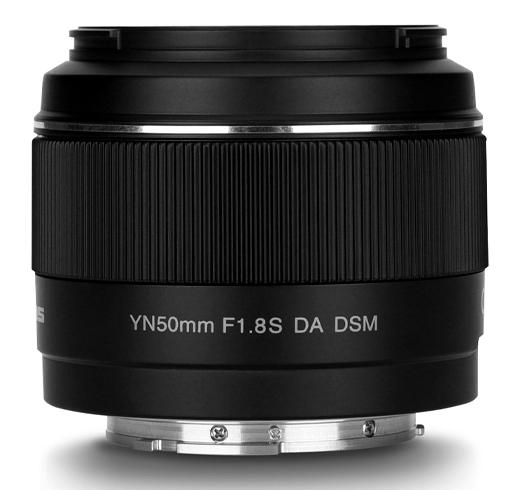 Объектив Yongnuo YN 50mm f/1.8S DA DSM