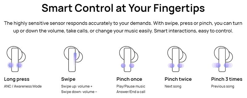 Easy controls