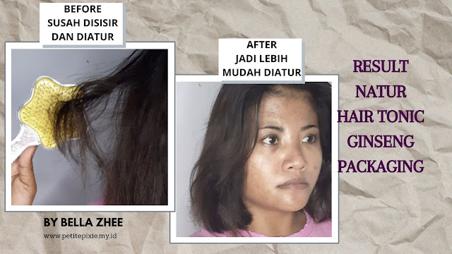 RESULT NATUR HAIR TONIC GINSENG