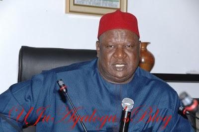 Former Nigerian Senate President, Ayim Pius Ayim, In Land Grabbing Scandal