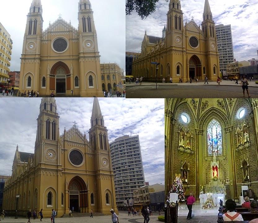 Festa de Nossa Senhora da Luz dos Pinhais e a Catedral Metropolitano  Mini-Basílica Menor da Cidade de Curitiba PR - BLOG DATAMARCOS do Ano de  2014 625b9bd9a9