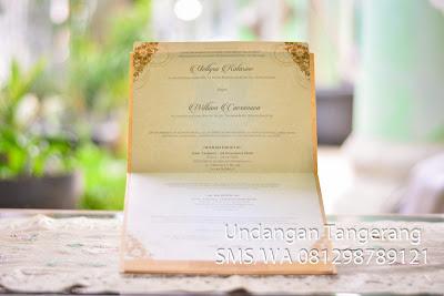 Undangan Pernikahan Eksklusif di Tangerang