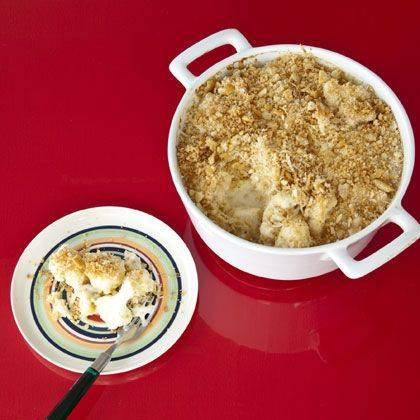 Cracklin' Cauliflower Gratin Recipe