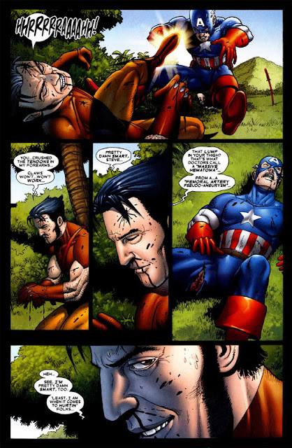 Hero envy the blog adventures captain america vs wolverine - Wolverine cgi ...