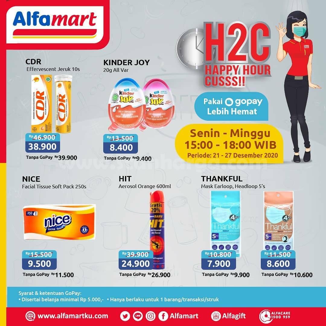 Alfamart H2C Promo Happy Hour Cusss Periode 21 - 27 Desember 2020