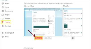 Cara Membuat Tabel Di Posting Blogger