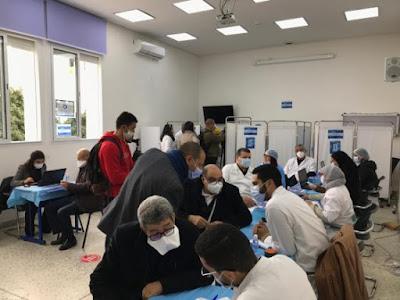 Maroc- près 10% de la population déjà vaccinée et  43.626 personnes ont reçu la deuxième dose