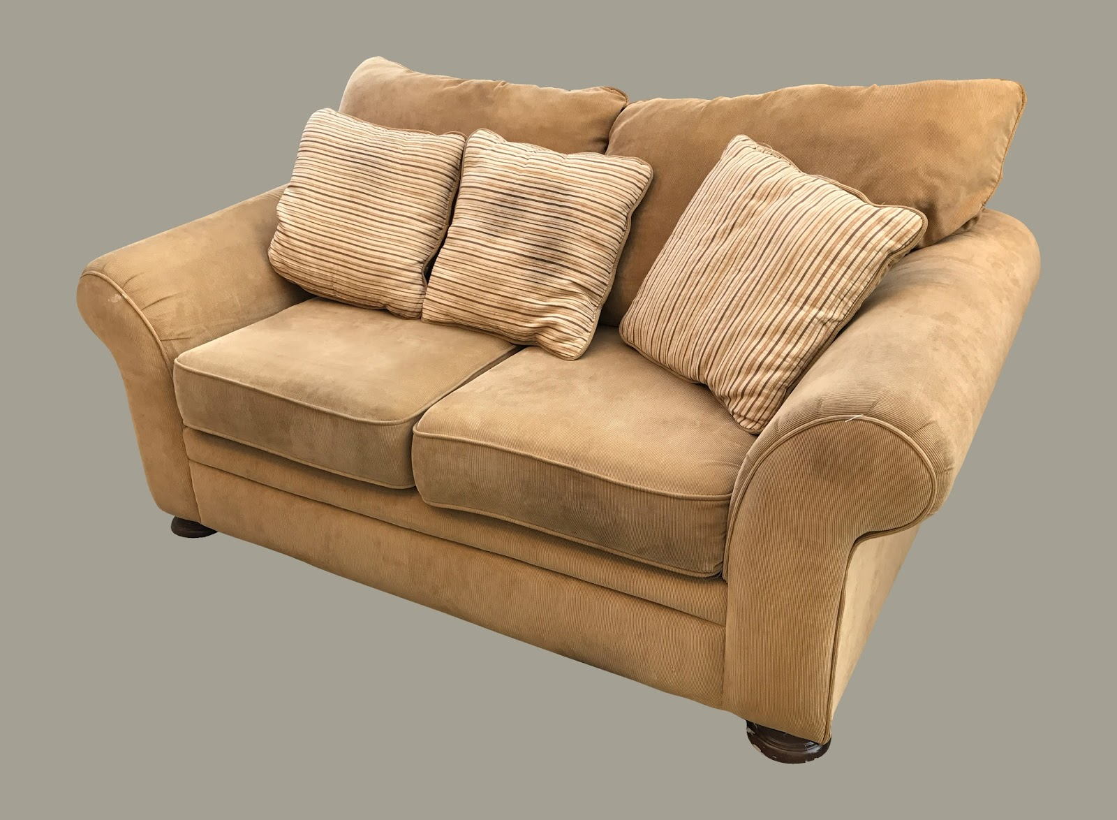Uhuru Furniture Collectibles Plush Courderoy Loveseat 125 Sold