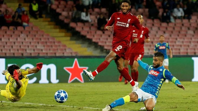 Napoli vs Liverpool: Mission sweet Neapolitan birthday results in San Paolo