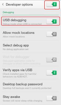 Cara Mengaktifkan USB Debugging Di Oppo R1001