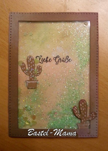 Schüttelkarte, Kaktus