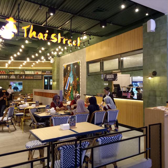 Thai Street Plaza Atrium