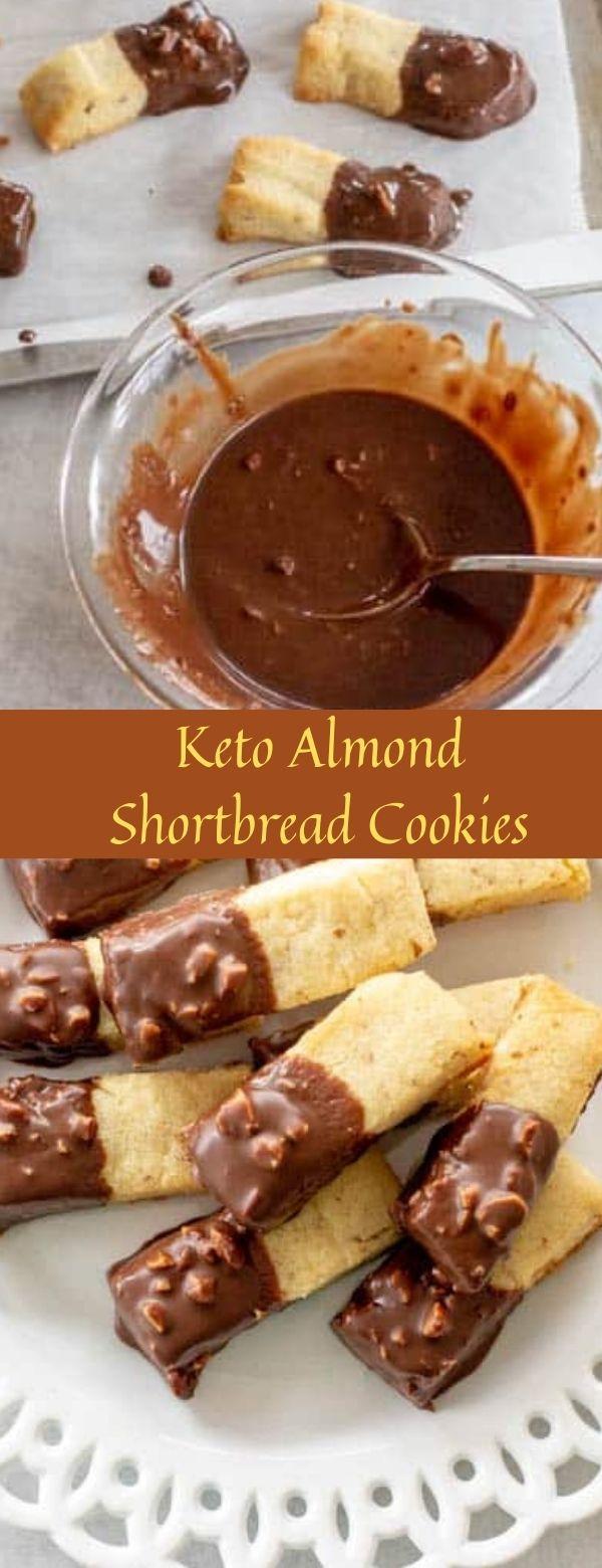 Keto Almond Shortbread Cookies